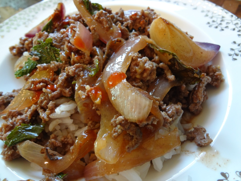 thai beef recipe - www.accidentalokie.com