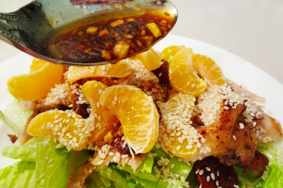www.accidentalokie.com | Asian Clementine Salad