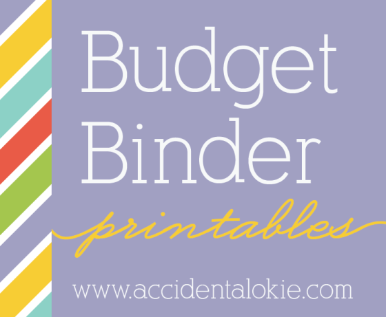 budget binder printables | www.accidentalokie.com
